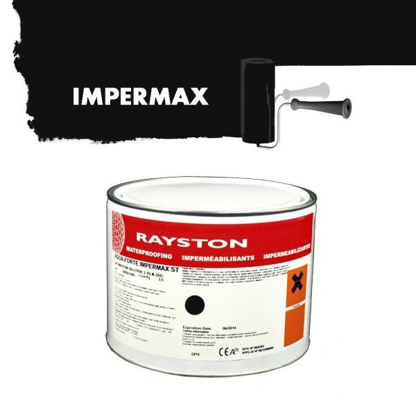 Impermax hochwertige flüssige Teichfolie - schwarz - 2,5 kg