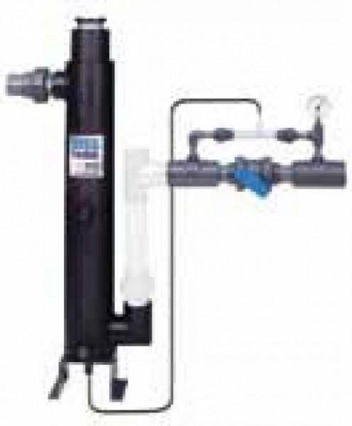 Uvox-200 inkl. Venturi System 100 Watt, Ein/Ausgang d 50 mm