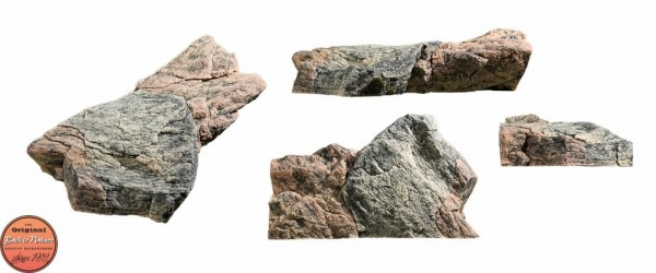 Back to Nature Aquarium Modul Basalt/Gneiss A, 73x45x20cm