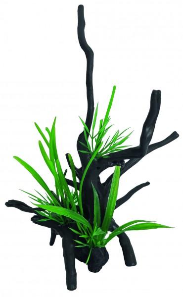 Superfish Spiderwood und Pflanze