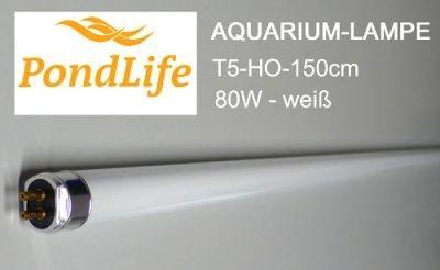 T5 Aquarium Lampe Ersatzleuchte 145cm 80W weiß