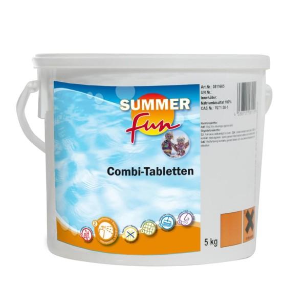 Summer Fun Combi Tablette ( Algen, Flock, Chlor ) 5 kg