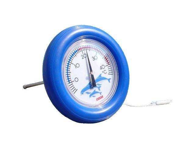 Rundthermometer für den Teich- oder Poolbereich