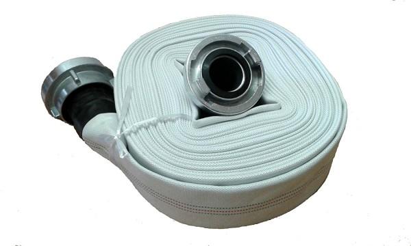 Pondflat Industrieschlauch 30m Rolle 52mm 10 bar mit Storzkupplung gummiert