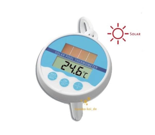 Digitales Solar-Poolthermometer für Schwimmbad und Teich (-20°C bis +50°C)