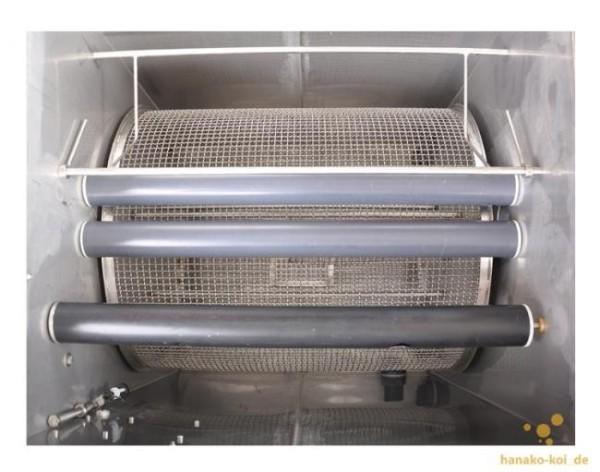 Crystal Clear Vliesfilter 500 (Schwerkraft) bis 35.000 Liter inkl. UVC + Filtermaterial + Vliesrolle