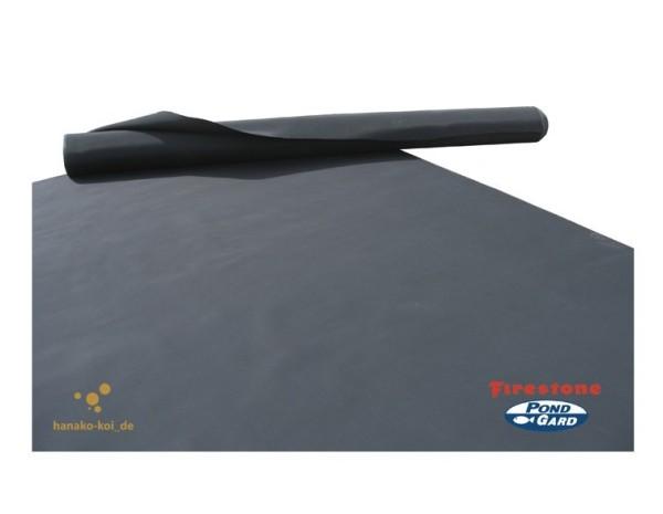 EPDM - Teichfolie (1,02 mm) Firestone Pondgard / Breite: 6,10 m