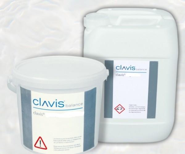 Sanfte Wasserpflege clavis® balance KH+