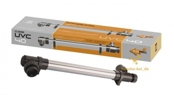UVC Gerät Koi Pro T5 Edelstahl 40 Watt für Koiteiche / Gartenteiche