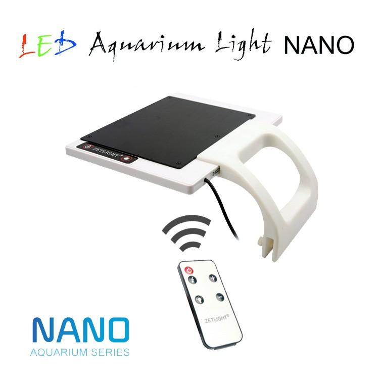 Zetlight Nano Aquarium LED Beleuchtung Aquariumlampe Klemmleuchte ...