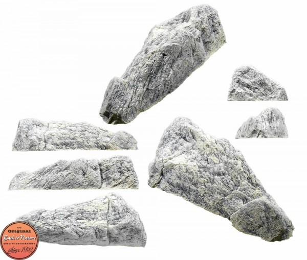 Back to Nature Aquarium Modul White Limestone M, 68x35x19cm