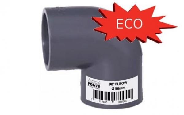 PVC Winkel 90° ECONO-LINE Ø 110mm, 10 bar