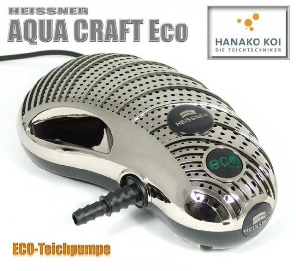 Heissner Aqua Craft Asnychron eco 10100 l/h Filter- und Bachlaufpumpen