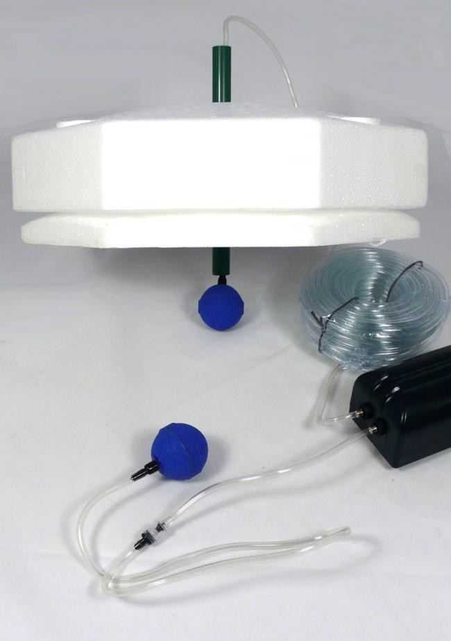 anti ice eisfreihalter set 2 f r teiche. Black Bedroom Furniture Sets. Home Design Ideas