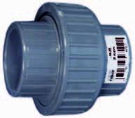 PVC-Verschraubung 90 mm 3 Zoll IG