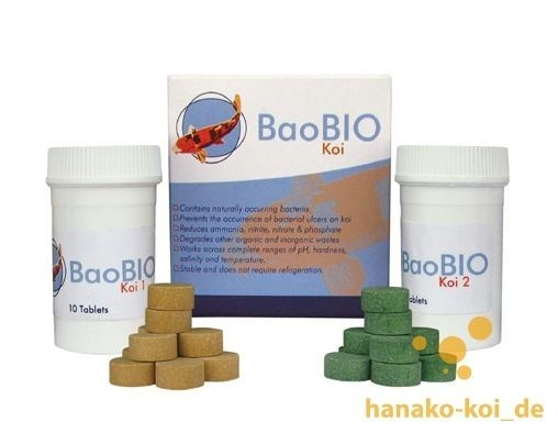 BaoBio Koi (20 Tabs) - 100 % natürliches Produkt