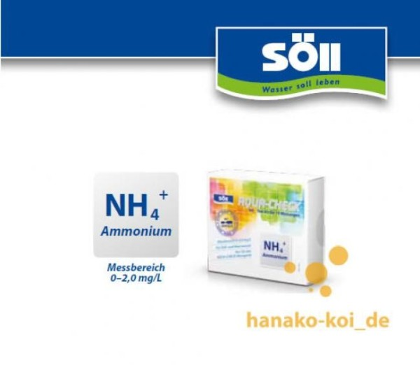 Söll Ammonium-Test Indikatoren für AQUA-CHECK 10 Tests