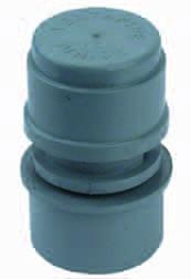 Universaler Klebsiphon mit Abflussreinigung TYP M Hilfbelüftung 32/40 mm