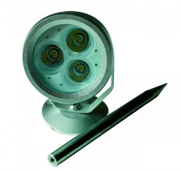 LED Unterwasserbeleuchtung Gartenbeleuchtung POWER LED Leuchten 3 x 1 Watt