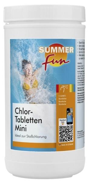 Summer Fun Chlor - Tabletten Mini 1,2 kg