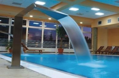 Pool EDELSTAHL WASSERSPIEL Cascade 500
