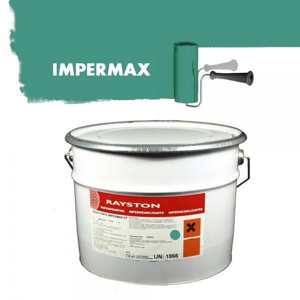 Impermax hochwertige flüssige Teichfolie - azurgrün - 10 kg