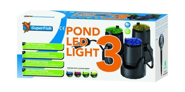 Superifsch Teich LED 3x