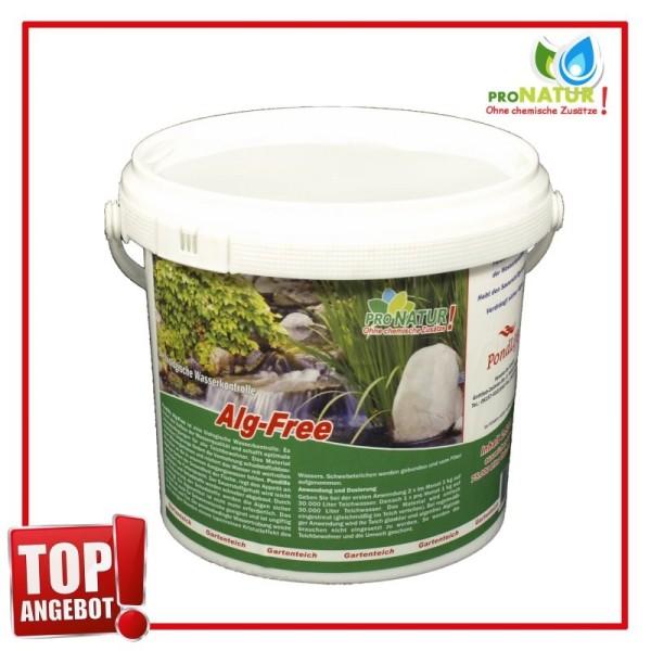 Pondlife Alg-Free Fadenalgenvernichter, 1 kg für 30.000 Ltr. Teichvolumen