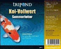 TRIPOND Koi Vollwert Sommer schwimmend 5mm 20kg