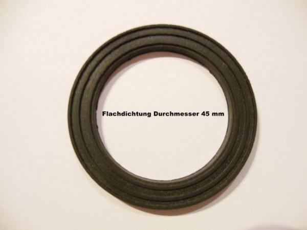 Flachdichtungen 45mm für Pondlife UVC-Gerät