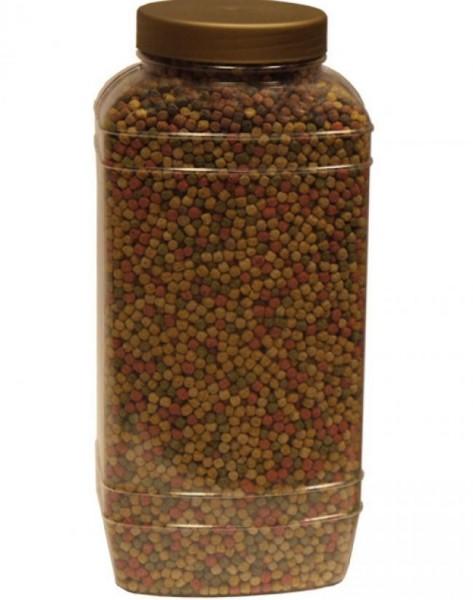 HOCHWERTIGES BASISFUTTER FÜR ZIERFISCHE Basic 15Kg Medium (± 40 Liter) Pellets (6mm)