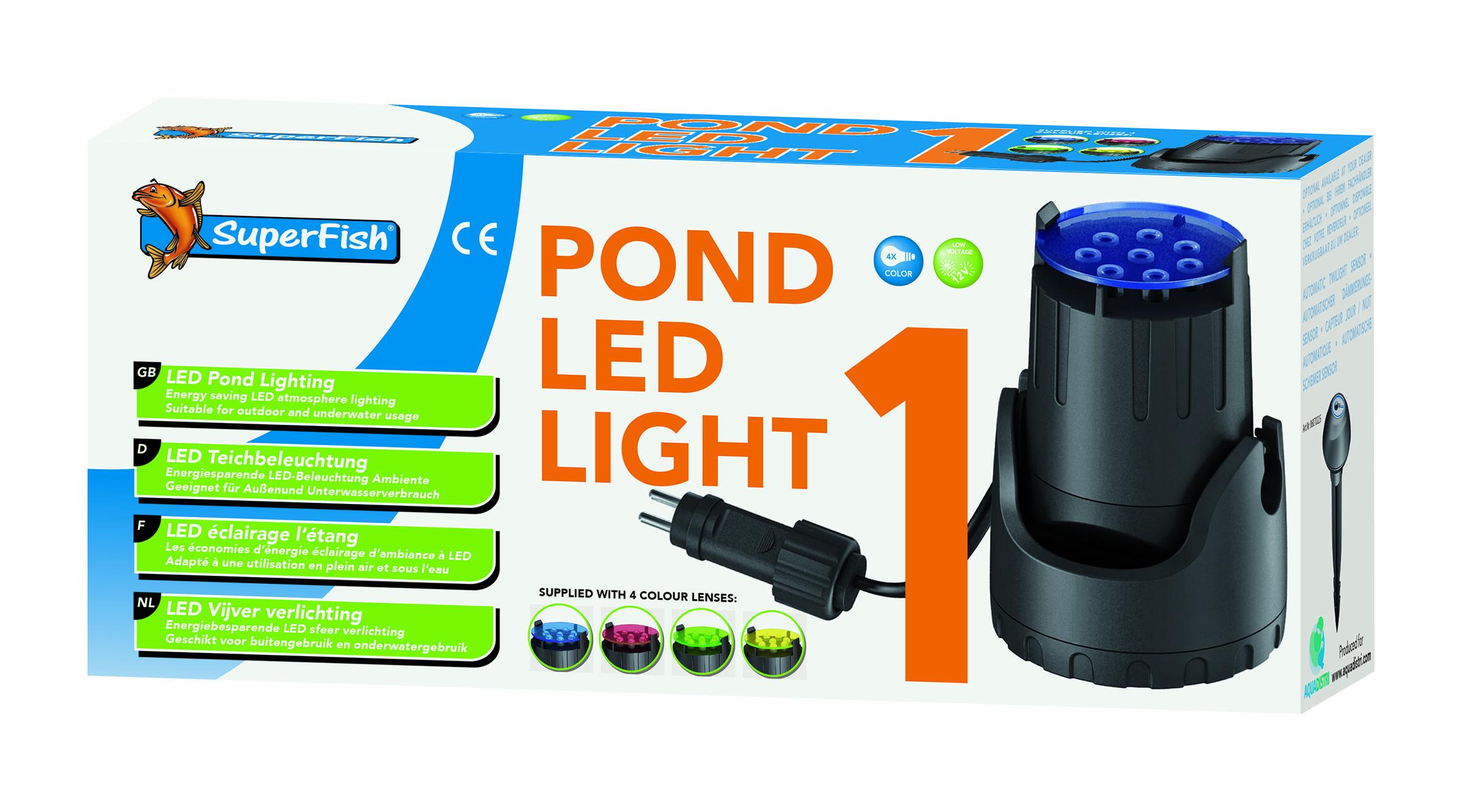 Superfish Teich LED Licht 1x | Teichbeleuchtung | Teichtechnik ...