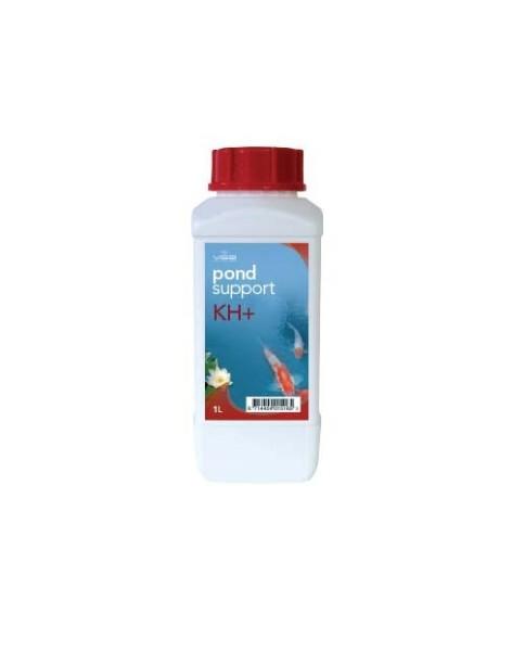 POND SUPPORT WASSERBEHANDLUNG KH+ (Puderform) 1 Liter (ca 1kg)