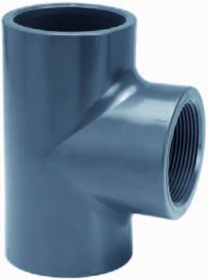 PVC-T-Stück 90° Innengewinde 63x2&quotx63