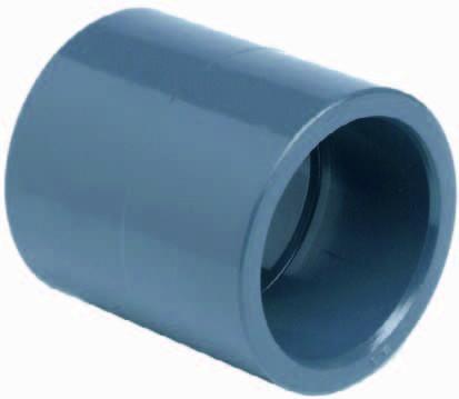 PVC-Muffe Ø 50 mm Koi Teich Filter Fitting