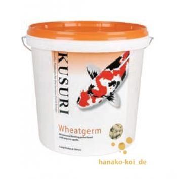 Kusuri Wheatgerm schwimmendes Futter 15 kg (Ø 6-8mm) bei niedriger Wassertemperatur