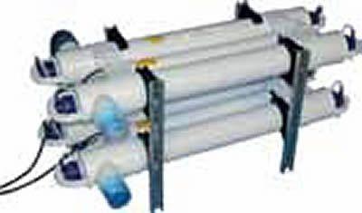 UVC-Block mit 3 x TMC Pro- Clear 110 Watt