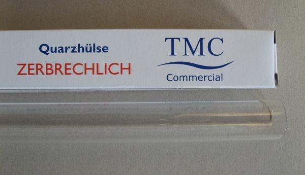 Quarzglas für TMC Modell 8 + 16 Watt