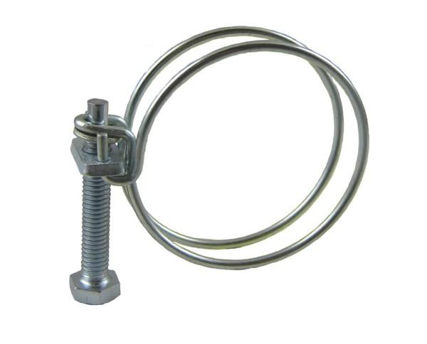Drahtschlauchschelle W1 - Stahl verzinkt