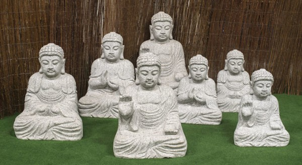 "Granitstein ""Buddha II"" mittel"