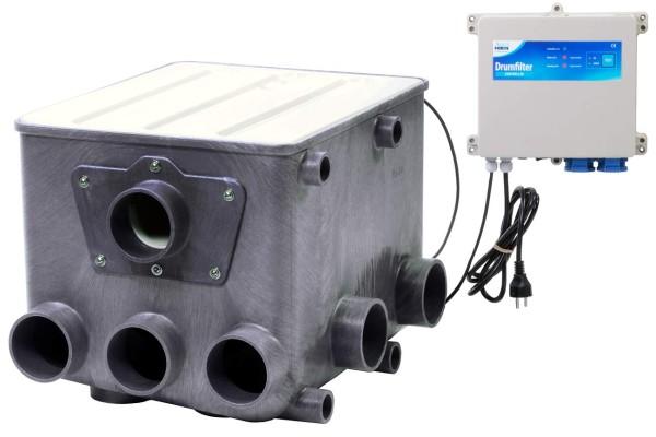 AquaForte Trommelfilter ATF-1 Kunststoff incl. Steuerung