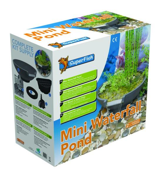 SuperFish Mini Wasserfall -SET - Teich
