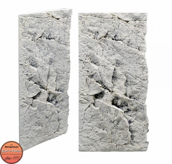 Back to Nature Slim LIne 50C White Limestone 20x45cm
