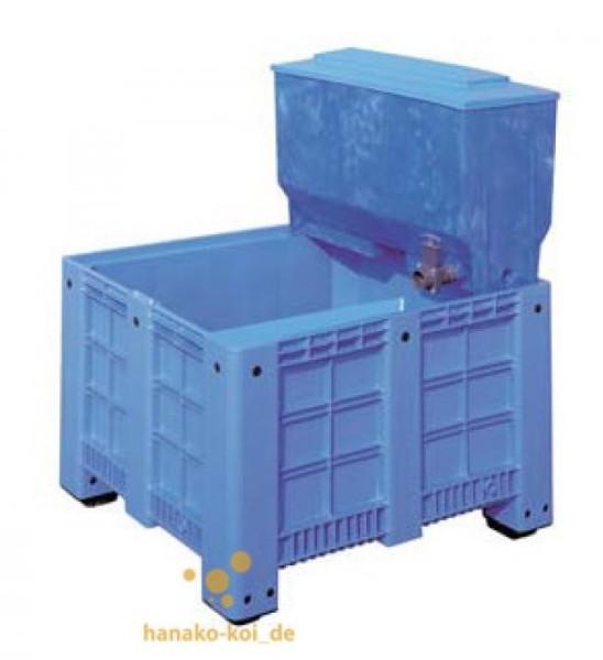 berwinterungs- / Quarantänebecken 600 l mit Aufsatzfilter (blau)