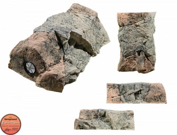 Back to Nature Aquarium Modul Basalt/Gneiss C ( Filtermodul ), 48x30x17cm