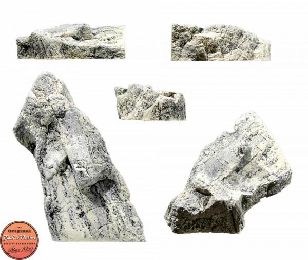Back to Nature Aquarium Modul White Limestone O, 47x38x17cm