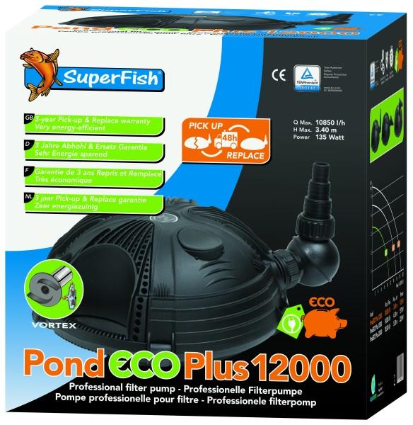 SuperFish Pond Eco Plus 12000 - 135 Watt