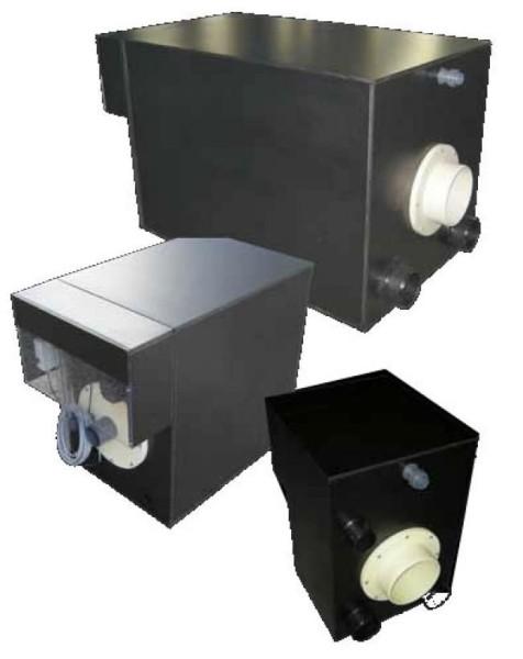 Trommelfilter Typ 600 L komplett, ohne Druckpumpe