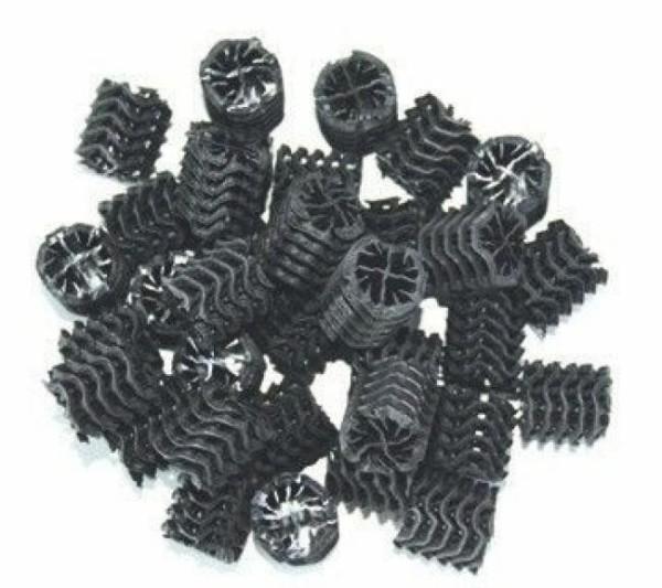 AL-Schwimmbettmedium (XXL) 100 L, schwarz (Moving Beads) Filtermedien