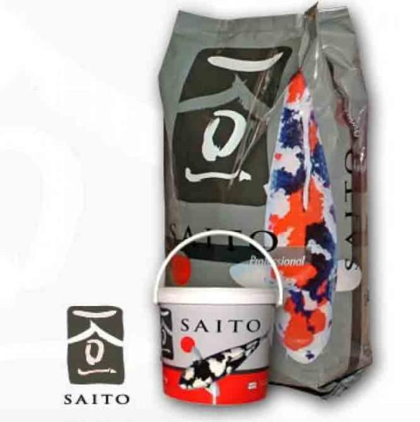 2x Saito Professional 15kg Futter + gratis ein Koi Buch